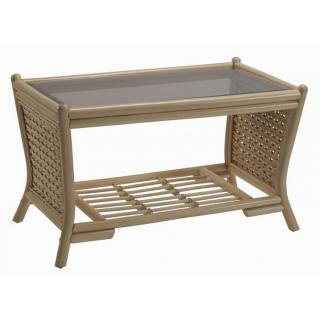 The contemporary Harlow Coffee Table would sit elegantly in any conservatory.
