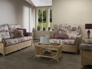 The contemporary Harlow Suite would sit elegantly in any conservatory.