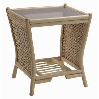 The contemporary Harlow Lamp Table would sit elegantly in any conservatory.