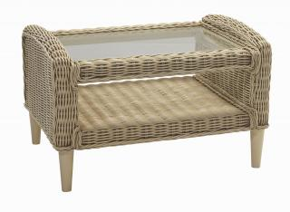 The contemporary Hartford Coffee Table is a great accessory in complimenting the Hartford Conservatory Range.