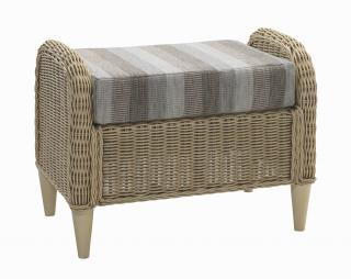 The contemporary Hartford Footstool will give the ultimate relaxation and comfort in any conservatory.