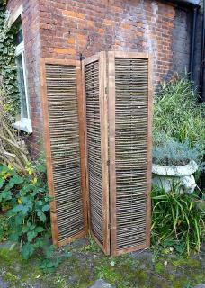 This versatile Chairworks Screen can either be used in the garden or separating spaces in open living areas.