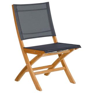 Barlow Tyrie Horizon Side Chair in Charcoal