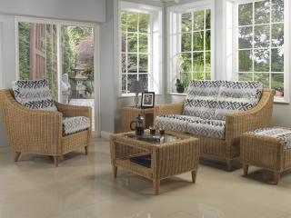 The contemporary Hudson Conservatory Suite is ideal for limited spaces.