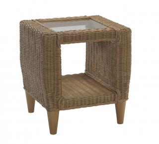 The contemporary Hudson Lamp Table is a great accessory in complimenting the Hartford Conservatory Range.