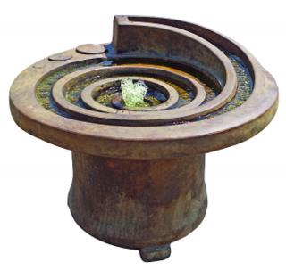 Kelkay Henri Hurricane Eye Patio Fountain