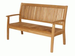 Barlow Tyrie Code 1MO15. The fantastic Monaco 150cm Teak Bench will take wind, snow, rain, and even the odd sunshine and still look great.