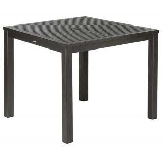 Barlow Tyrie Aura 90cm Square Dining Table (Powder Coated)