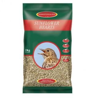 Johnson & Jeff Sunflower Hearts 2kg