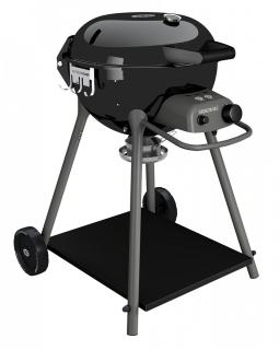 The neat OutdoorChef Kensington 480G Gas Barbeque is fantastic for garden or patios with limited space.