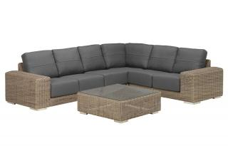 4 Seasons Outdoor Kingston Modular Set in Pure
