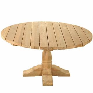 The reclaimed teak Kuta Vintage Round Table has a unique character due to it's wood knots, spilts and fill ins. This table would look fabulous with Six Oakridge Armchairs. Code TTRC4.