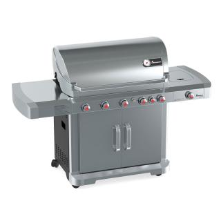 This large family stainless steel 5 Burner Gas BBQ will enable you to entertain in style