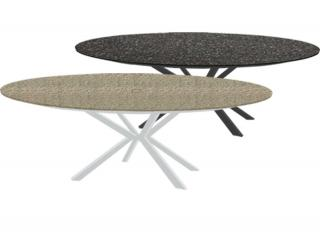 Westminster Code MADI901S + top. Round aluminium garden table with a ceramic top in a choice of colours.