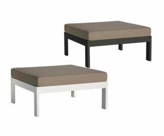 Westminster Code MANH401S, MANH402S + cushion. A versatile garden ottoman complete with Sunbrella cushion in a choice of colours.