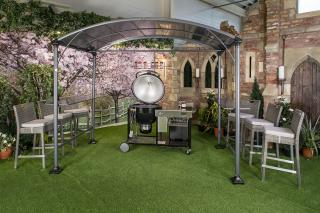 This great Memphis Grill Gazebo is fantastic for providing shade when required.