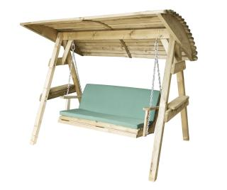 The Miami Swing Cushion will give maximum comfort when relaxing on this Swing Seat.