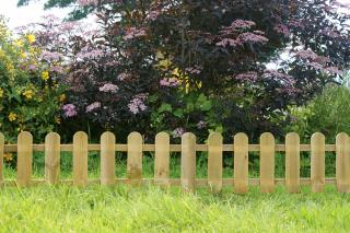 These Mini Pickets are ideal for defining different sections of your garden.