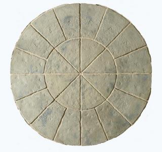 Minster Paving Circle Rustic Sage Patio Kit