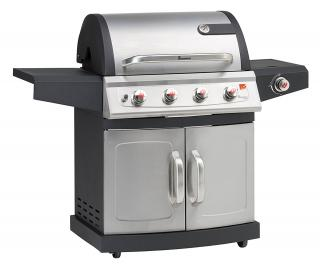 The Landmann Miton 4.1 Burner Gas BBQ is practical & fantastic value for money.