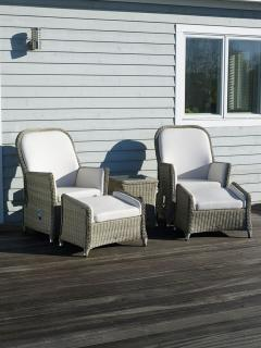 The stylish Monte Carlo Recliner Set is shouting out for summer to begin.