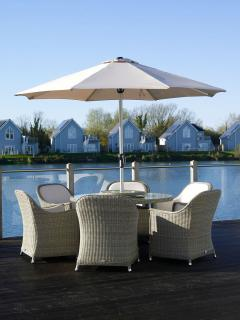 The stylish Monte Carlo Six Seater Dining Set is shouting out for summer to begin.