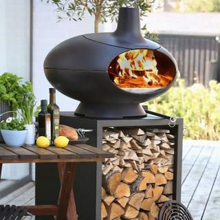 The unique Morso Forno Terra takes cooking fantastic outdoor cooking to another level.
