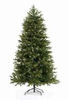 This 7ft 100% PE Pre-lit Narvik Spruce will make a great backdrop for your Christmas decorations. FREE Gift included when you buy online.