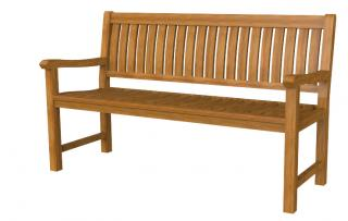 5ft Solid Teak Lambok Garden Bench