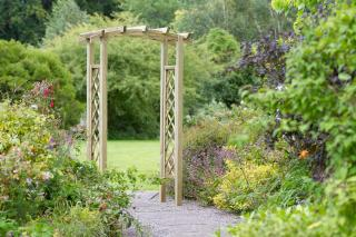 The Starlight Arch will give you a touch of elegance to any area within the garden.