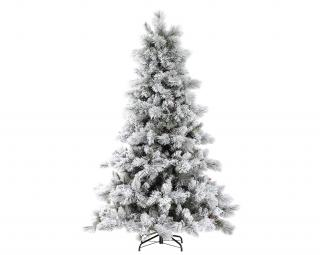 Our 6ft Nordic Pine with Glittery Flocked branches would make a great Christmas display. FREE Gift included when you buy online.