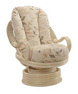 The stylish Swivel Rocker would complement both traditional and contemporary decor.