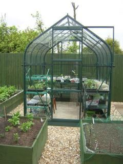 Vitavia Orion 5000 Greenhouse in Green