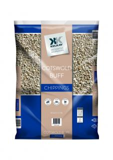 Kelkay Cotswold Buff Stone 8-15mm Bulk Bag Aggregate