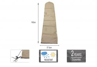 A premium night cover for a variety of small parasols up to & including 2.5m.