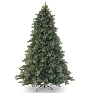 7ft Frosted Colorado Spruce Feel-Real Artificial Christmas Tree
