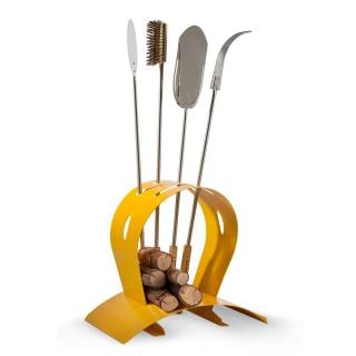 The Arco Peel Holder will hold all of your required utensils when using an Alfa Pizza Oven. Available in five colours.