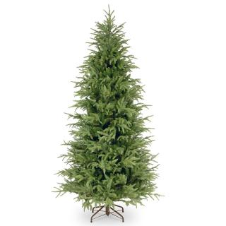 6ft Frasier Grande Fir Slim Feel-Real Memory-Shape Artificial Christmas Tree
