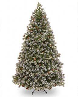 The 9ft Liberty Pine has snow & cone decorations on its branches. FREE Gift included when you buy online.