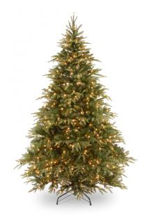 9ft Pre-lit Weeping Spruce Artificial Christmas Tree