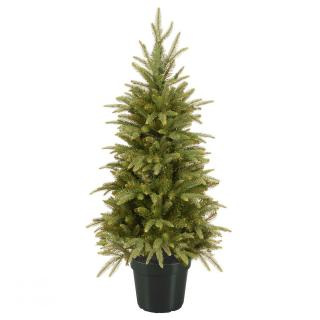 4ft Weeping Spruce Potted Feel-Real Artificial Christmas Tree