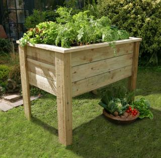 Deep Root 1m Vegetable Planter