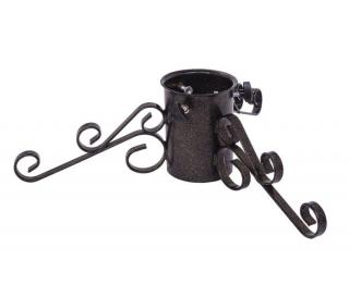 Premium Wrought Iron Stand - Black