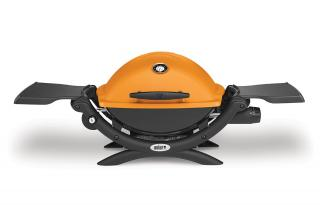 Weber Q1200 Gas Barbecue - Orange