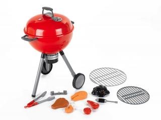 This red toy barbecue will allow the kids to 'cook' along with dad. Suitable for 5yrs+ it has lights & sound for that authentic touch.