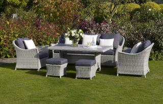 The stylish Monterey Casual Lounge Suite will take centre stage in the garden or the conservatory.