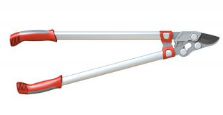 Wolf-Garten Anvil Loppers will give you more leverage due to their longer handles.