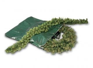 This zipped bag has been designed especially for storing your Christmas Wreath or garland out of season.
