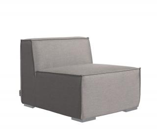 Westminster Code SAHM103. A grey modular all weather chair with quick dry foam.