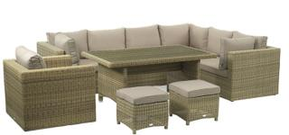 This Sahara Modular Set will compliment any conservatory or garden.